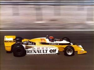 Mise en peinture de la Formule 1 , 1981 - photo: Guy Boulet