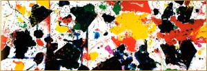 Sans titre (acrylique sur toile) 120 x 365 cm, 1978