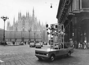 Sculpture-automobile pour Chronos 10, 1969-1970 photo: Jean-Jacques Morer, Courbevoie