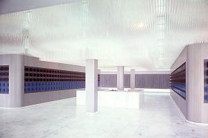 Grande Ecriture, Carres vibrants et plafond, Integrations, 1974 photo: Guy Boulet